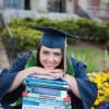 Ashley Frye earns her degree