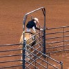 AQHA replacing rope gates with metal gates in Trail