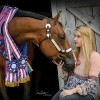 Leah Burgess is a fierce competitor with a big heart for animals
