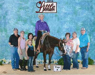 Randy Mitchell at the Little Futurity.
