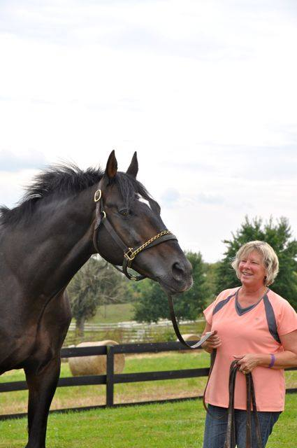 Robin DeGraff of DeGraff Breeding Stables